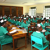 3ded1ec8488 As part of their training the nurses not only work in the regional hospital  of Mbale but also within the health program of SALEM. This allows for  experience ...